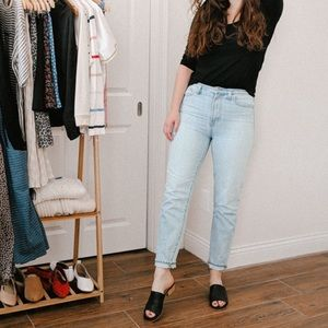 Madewell Perfect Vintage Jean in Light Wash